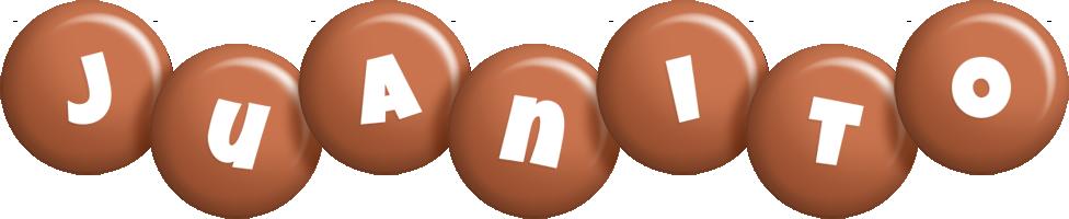 Juanito candy-brown logo