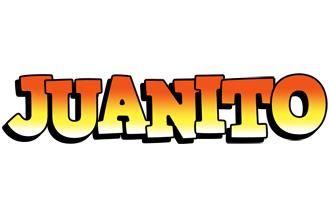 Juanito sunset logo