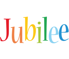 Jubilee birthday logo