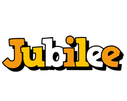 Jubilee cartoon logo