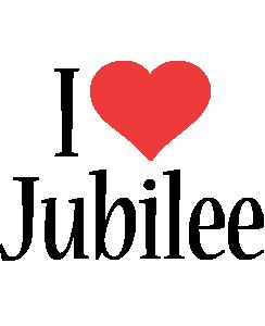 Jubilee i-love logo