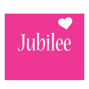 Jubilee love-heart logo