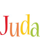 Juda birthday logo