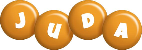 Juda candy-orange logo