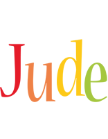 Jude birthday logo