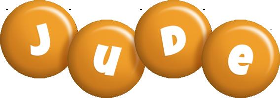 Jude candy-orange logo