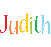 Judith birthday logo