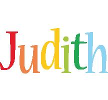 Judith birthday logo