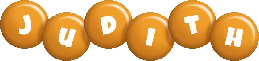 Judith candy-orange logo