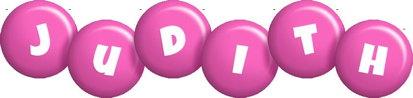 Judith candy-pink logo