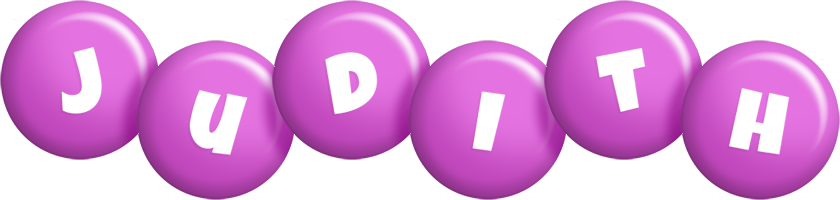 Judith candy-purple logo