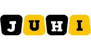 Juhi boots logo