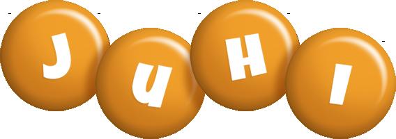 Juhi candy-orange logo