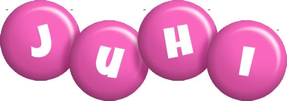Juhi candy-pink logo