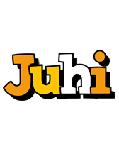 Juhi cartoon logo
