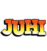 Juhi sunset logo