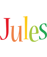Jules birthday logo