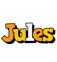 Jules cartoon logo