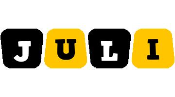 Juli boots logo