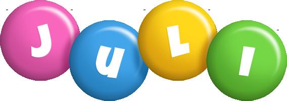 Juli candy logo