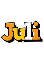 Juli cartoon logo