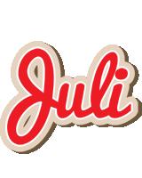 Juli chocolate logo