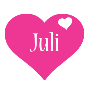 Juli love-heart logo