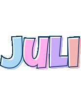 Juli pastel logo