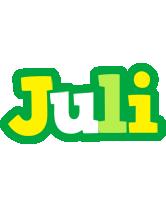 Juli soccer logo