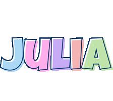 Julia Logo | Name Logo Generator - Candy, Pastel, Lager ...