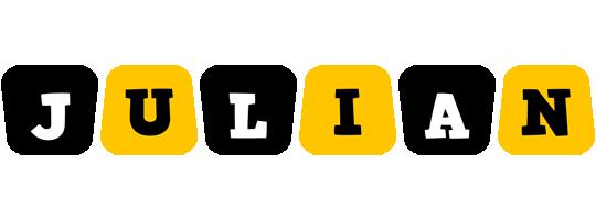 Julian boots logo