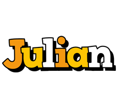 Julian cartoon logo