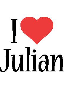 Julian i-love logo