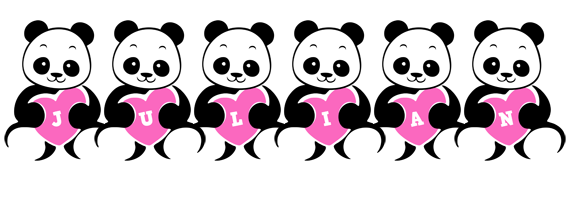 Julian love-panda logo