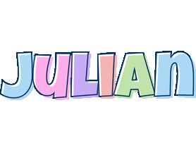 Julian pastel logo