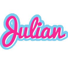 Julian popstar logo