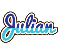 Julian raining logo