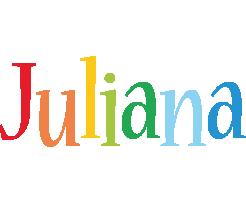Juliana birthday logo