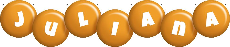 Juliana candy-orange logo