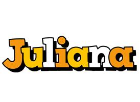 Juliana cartoon logo