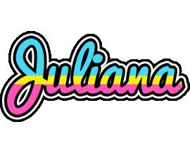 Juliana circus logo