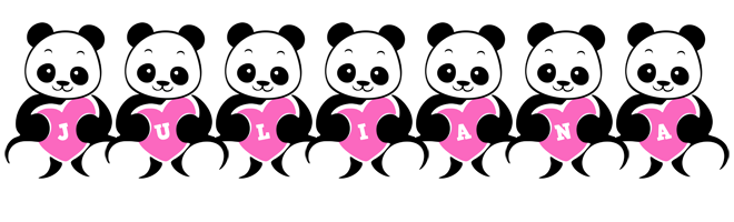 Juliana love-panda logo