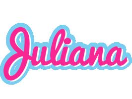 Juliana popstar logo