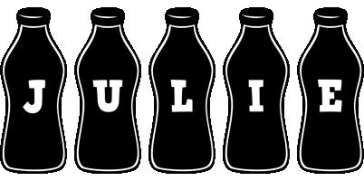 Julie bottle logo