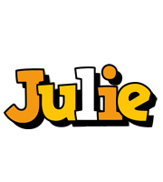 Julie cartoon logo