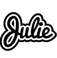 Julie chess logo