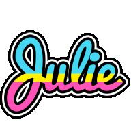 Julie circus logo