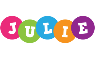 Julie friends logo