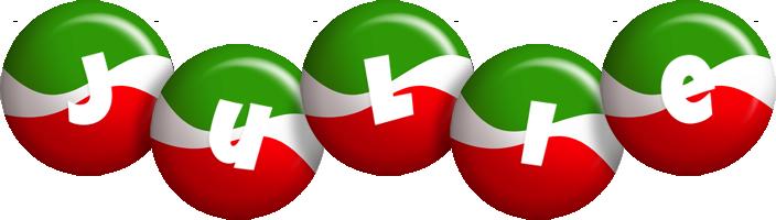 Julie italy logo