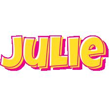 Julie kaboom logo